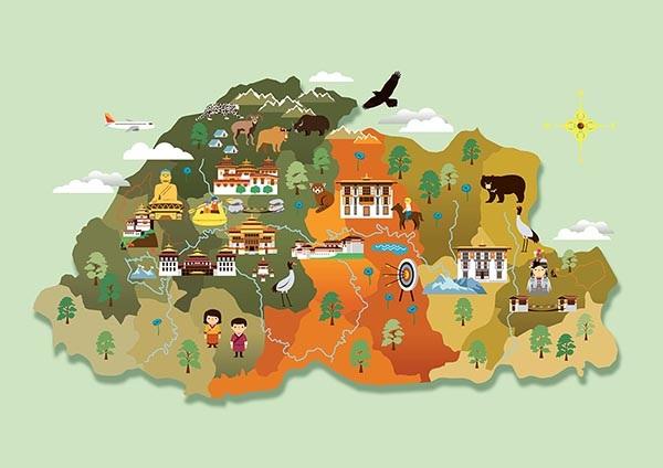 Payloadcargocollectivecom - Bhutan map quiz